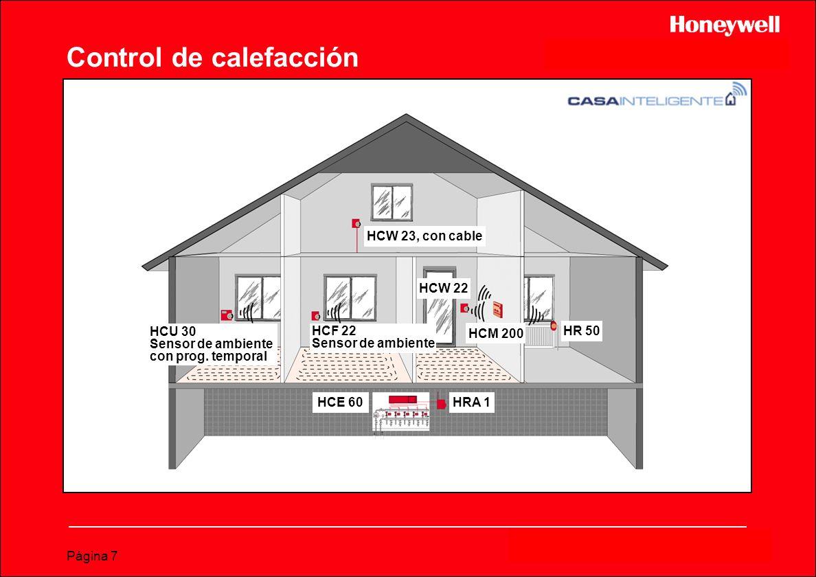Control de calefacción