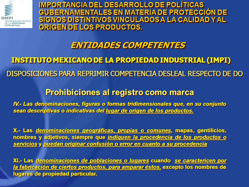 Prohibiciones al registro como marca