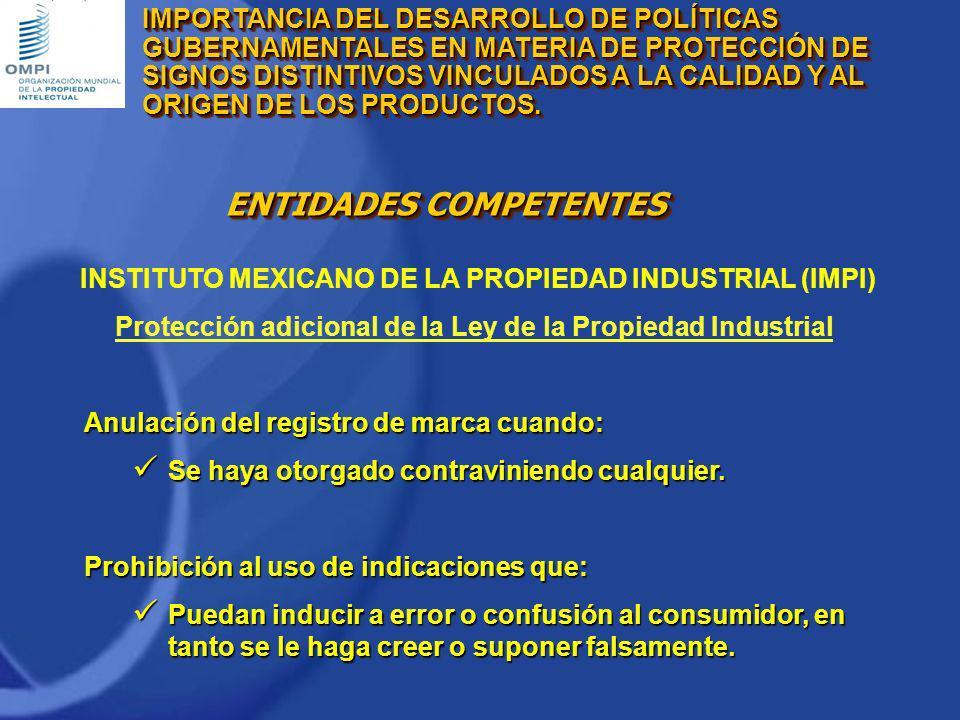 Protección adicional de la Ley de la Propiedad Industrial