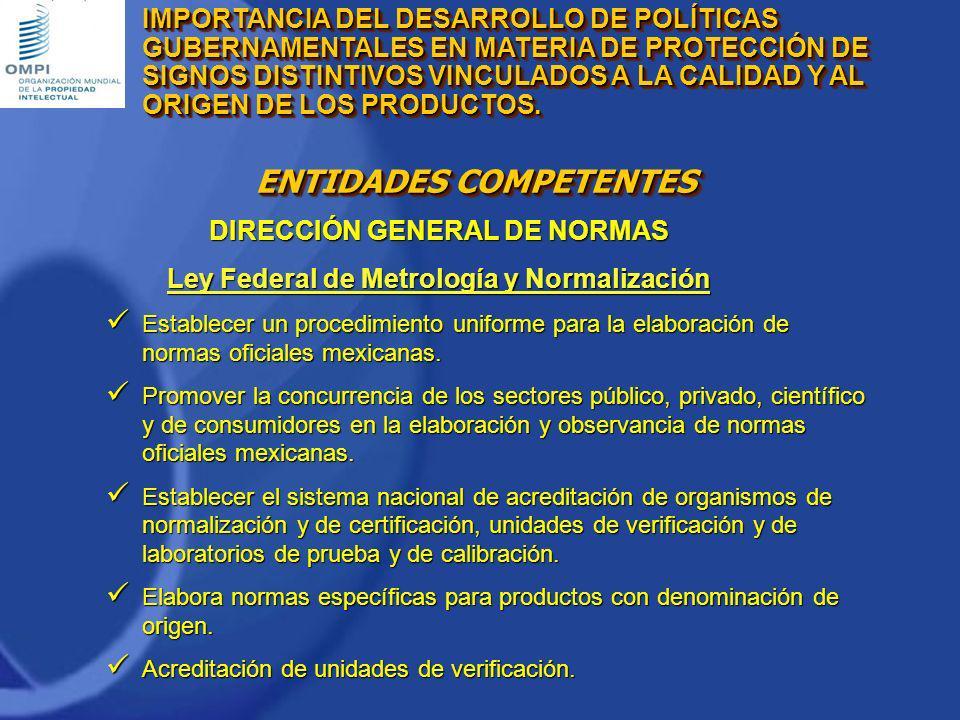 DIRECCIÓN GENERAL DE NORMAS
