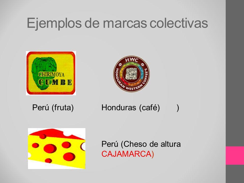 Ejemplos de marcas colectivas