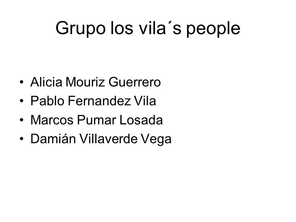 Grupo los vila´s people