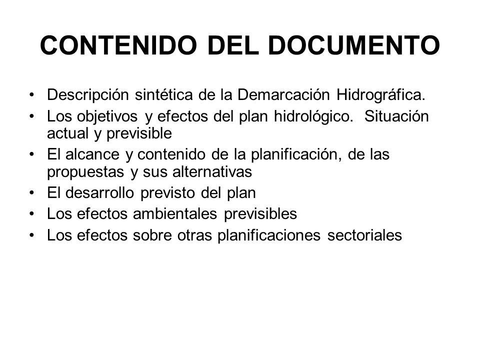 CONTENIDO DEL DOCUMENTO