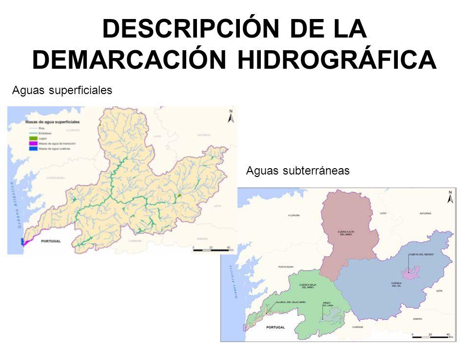DESCRIPCIÓN DE LA DEMARCACIÓN HIDROGRÁFICA