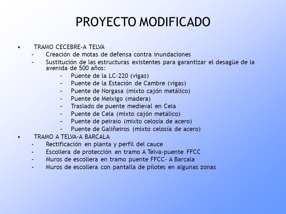 PROYECTO MODIFICADO TRAMO CECEBRE-A TELVA