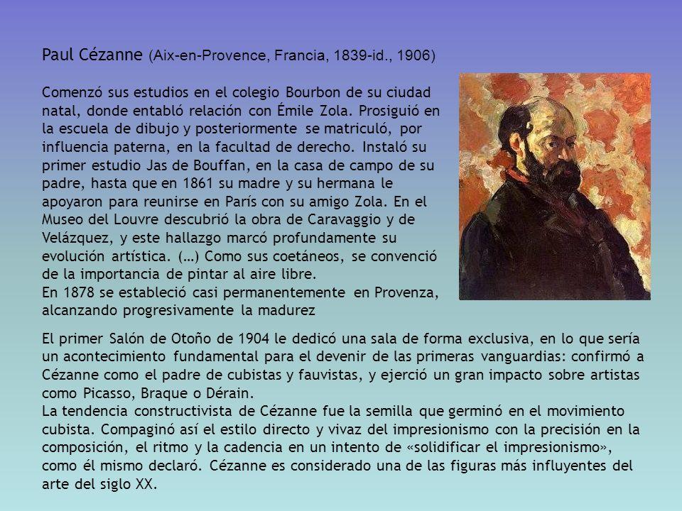 Paul Cézanne (Aix-en-Provence, Francia, 1839-id., 1906)