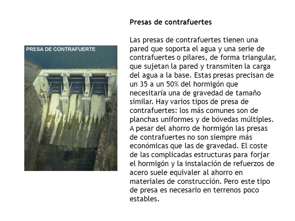 Presas de contrafuertes