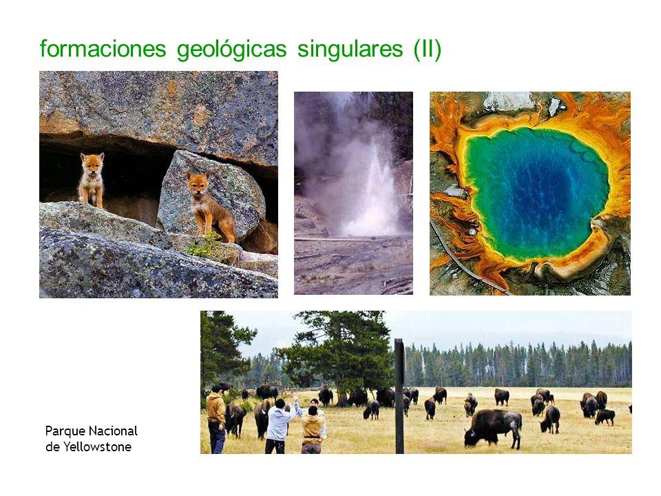 formaciones geológicas singulares (II)