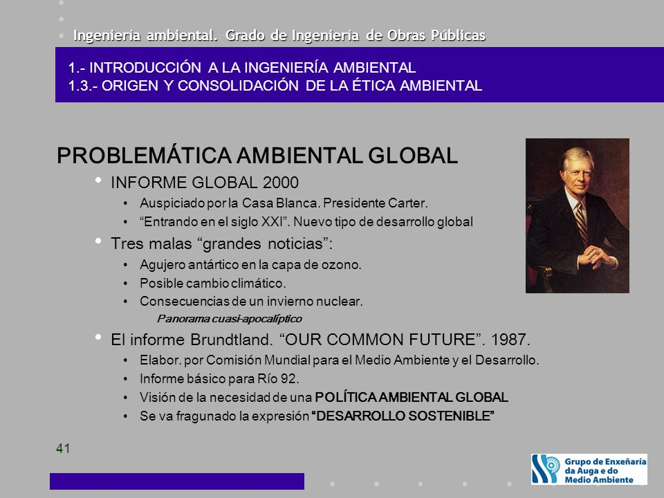 PROBLEMÁTICA AMBIENTAL GLOBAL