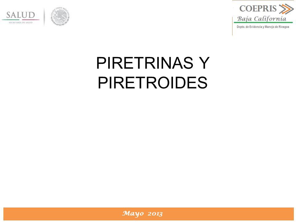 PIRETRINAS Y PIRETROIDES