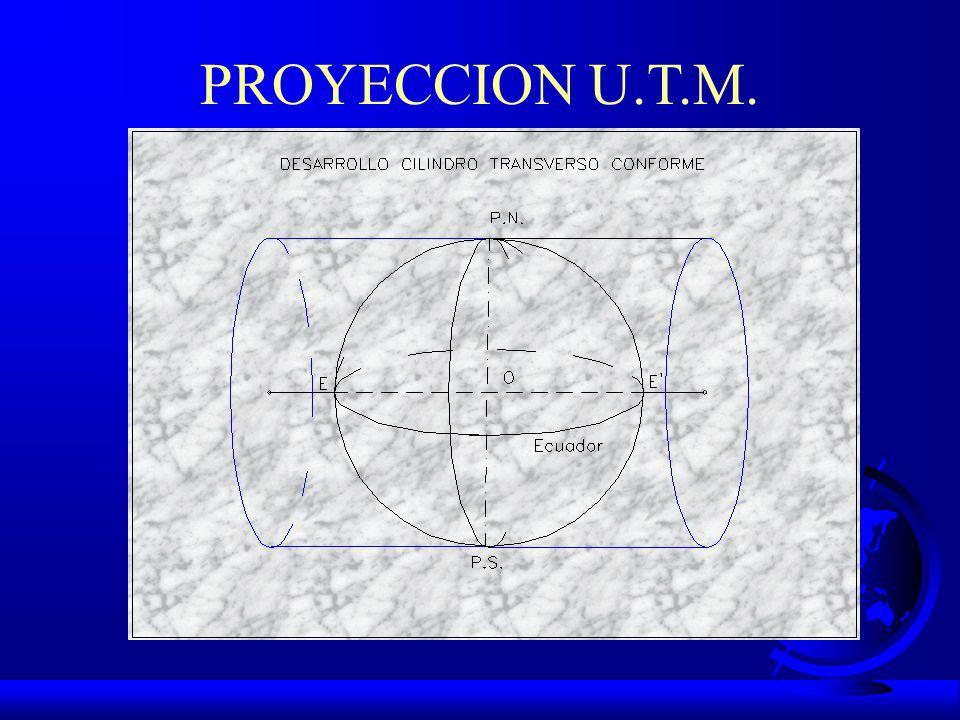 PROYECCION U.T.M.