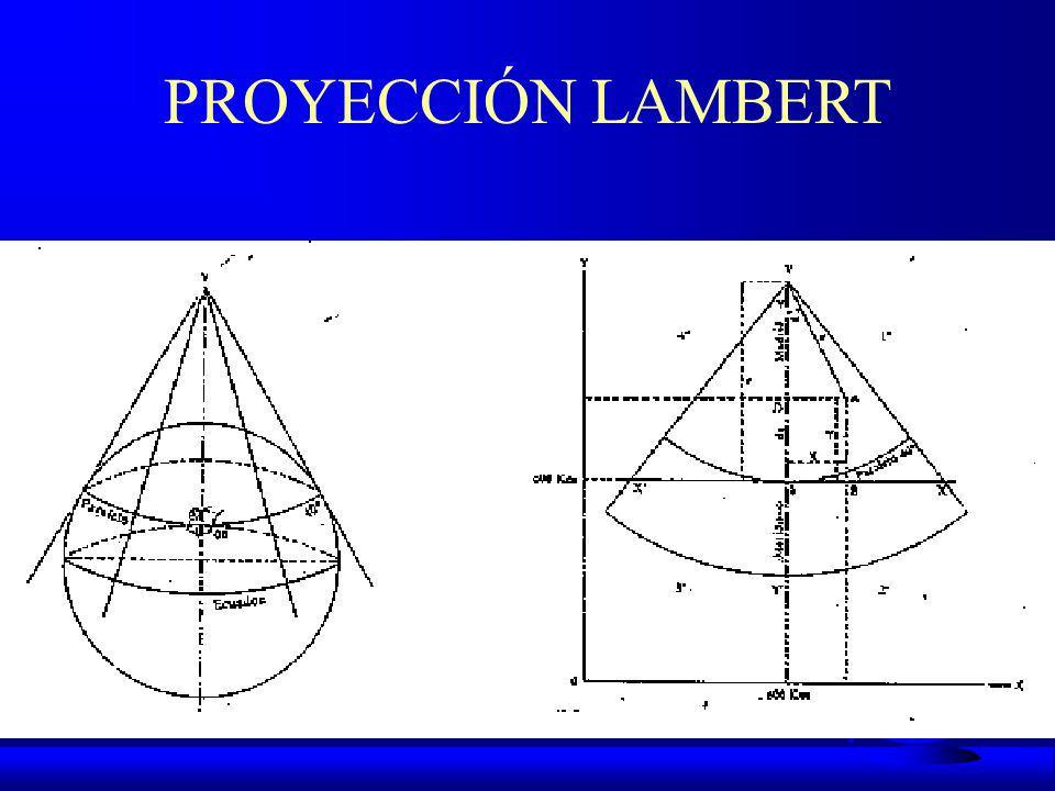 PROYECCIÓN LAMBERT