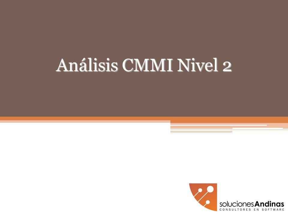 Análisis CMMI Nivel 2