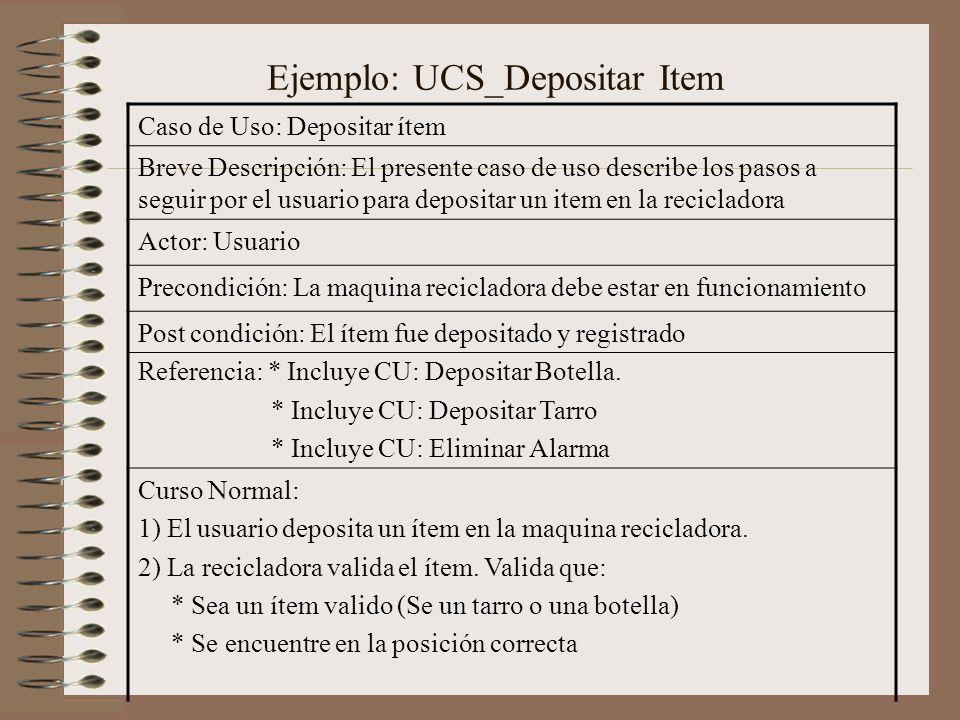 Ejemplo: UCS_Depositar Item