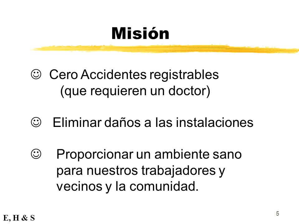 Misión Cero Accidentes registrables (que requieren un doctor)