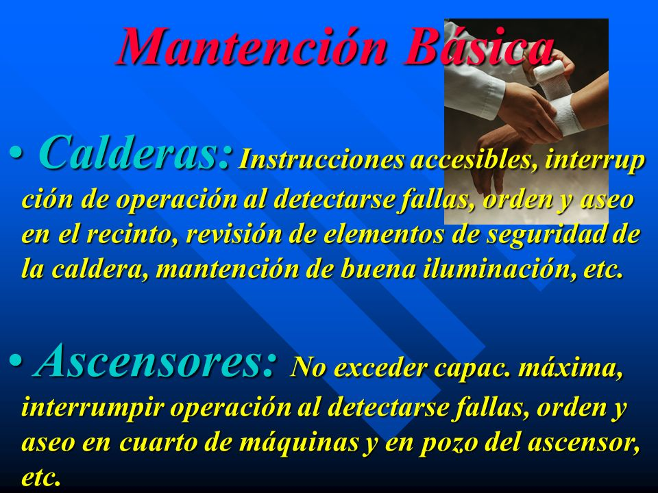 Mantención Básica Calderas: Instrucciones accesibles, interrup