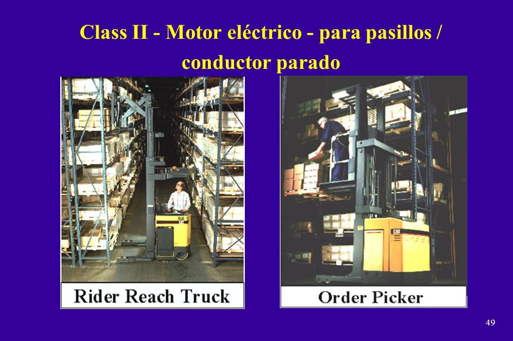 Class II - Motor eléctrico - para pasillos / conductor parado
