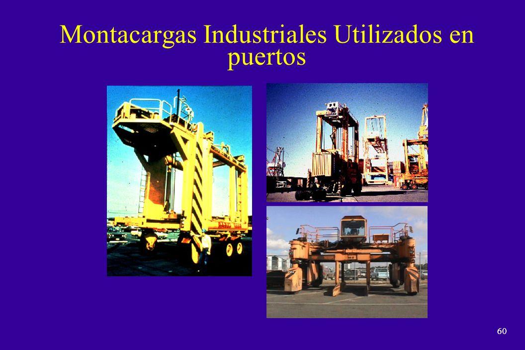 Montacargas Industriales Utilizados en puertos