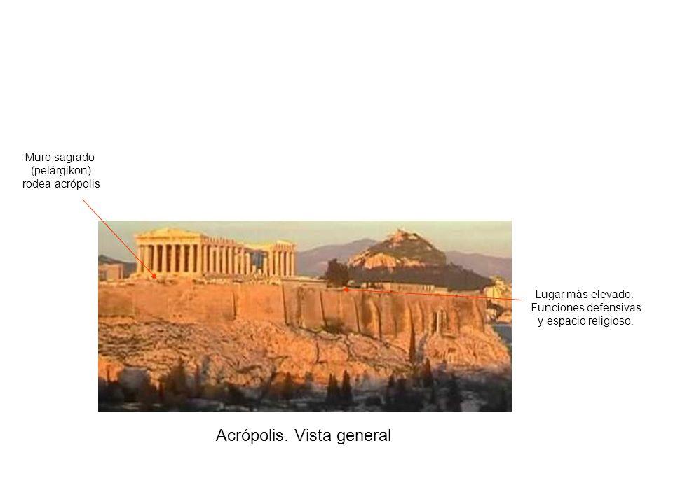 Acrópolis. Vista general