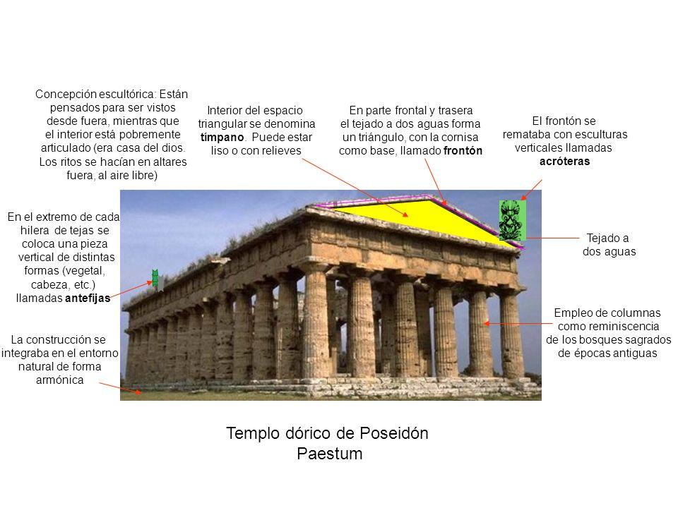 Templo dórico de Poseidón Paestum