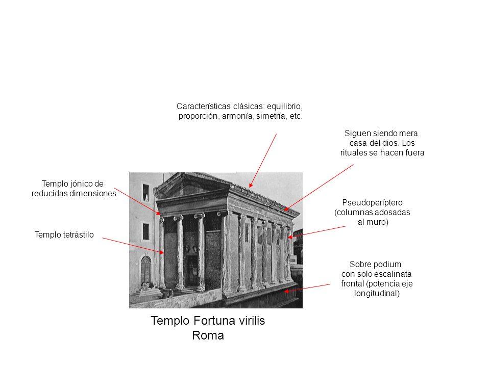 Templo Fortuna virilis Roma