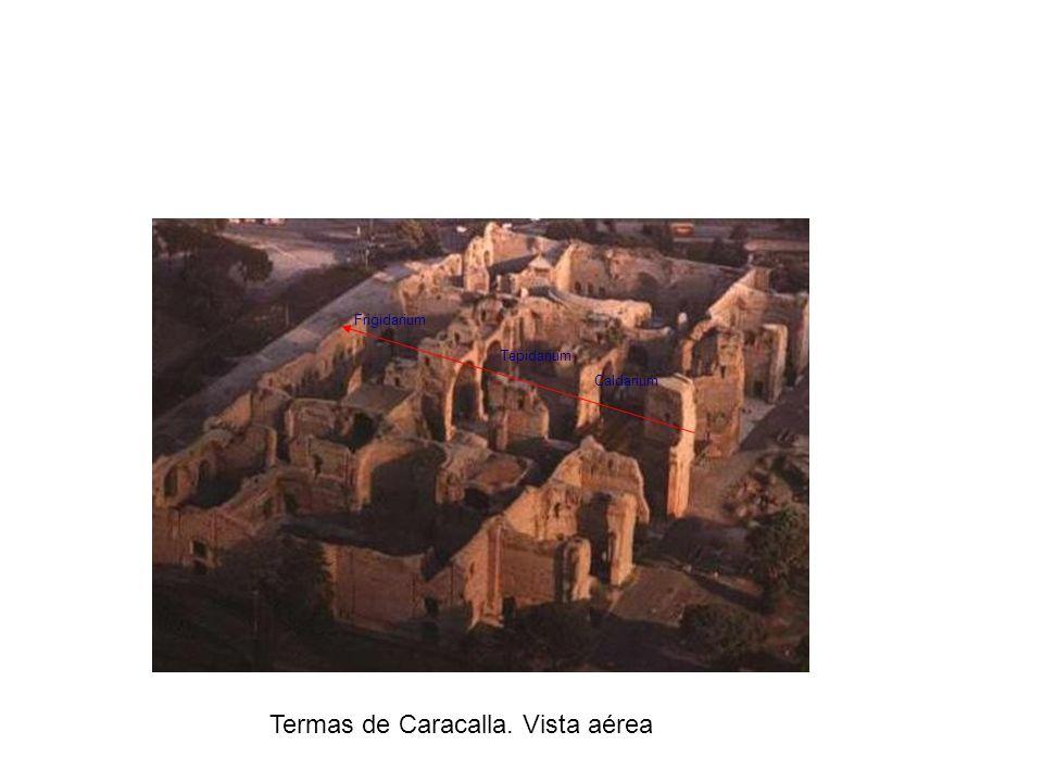 Termas de Caracalla. Vista aérea