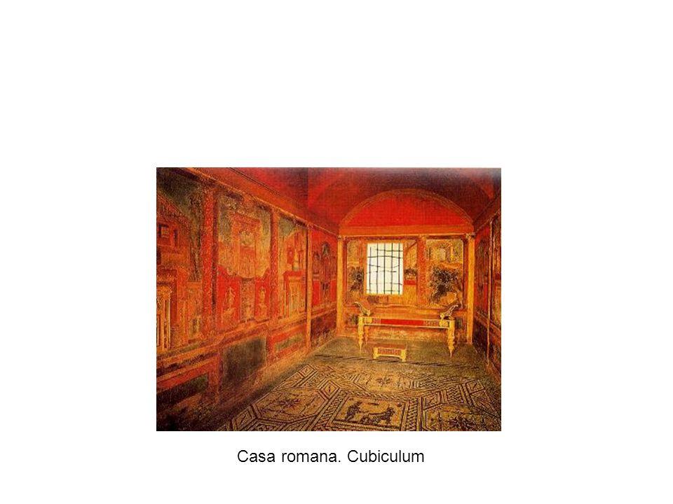 Casa romana. Cubiculum