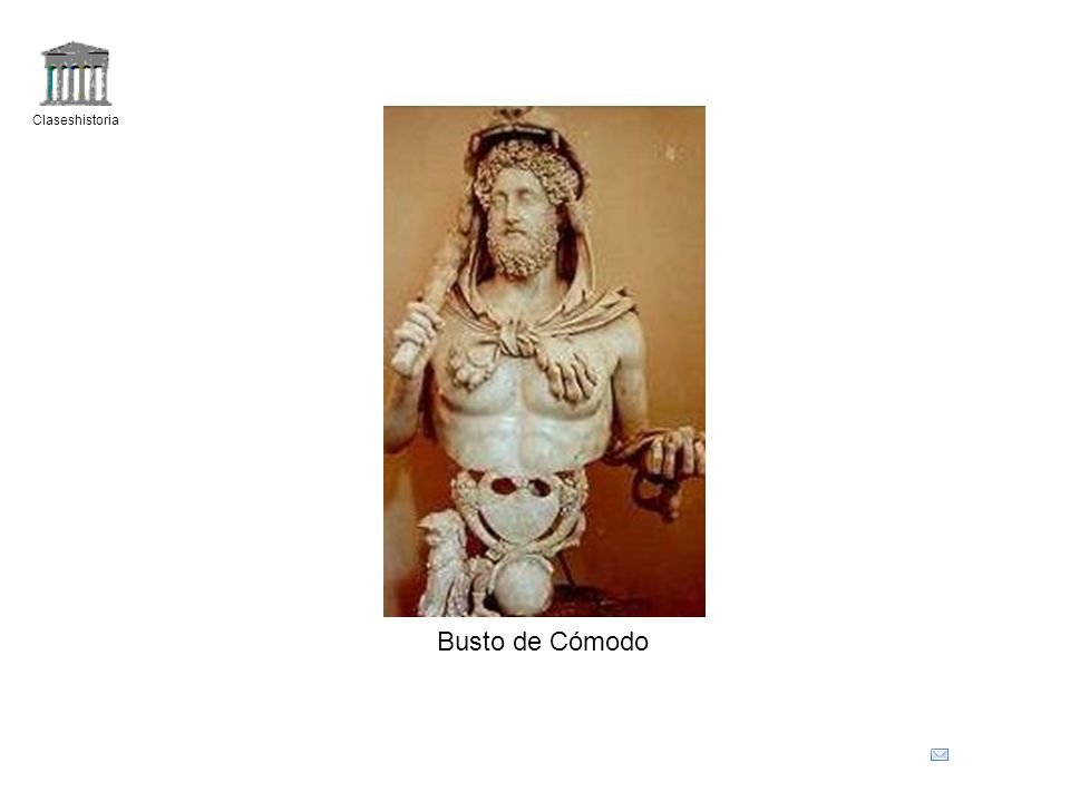 Claseshistoria Busto de Cómodo