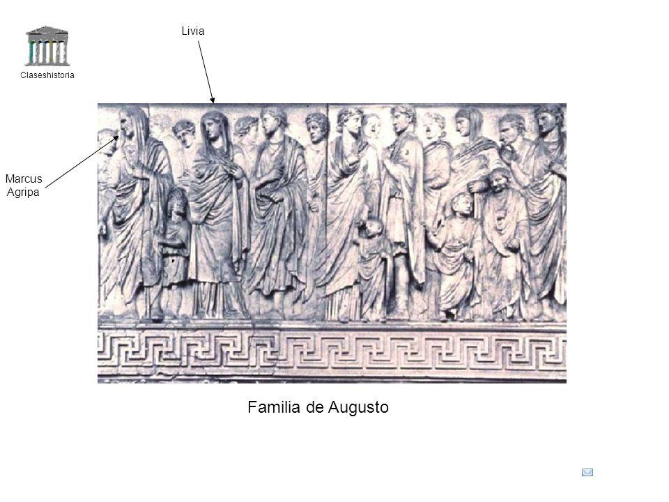 Livia Claseshistoria Marcus Agripa Familia de Augusto