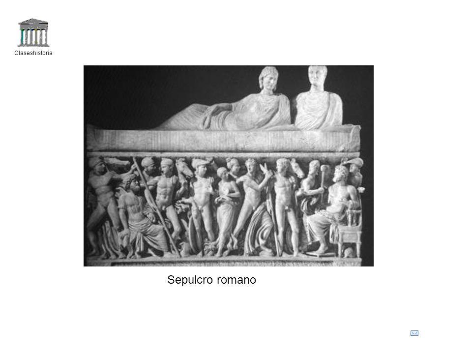 Claseshistoria Sepulcro romano