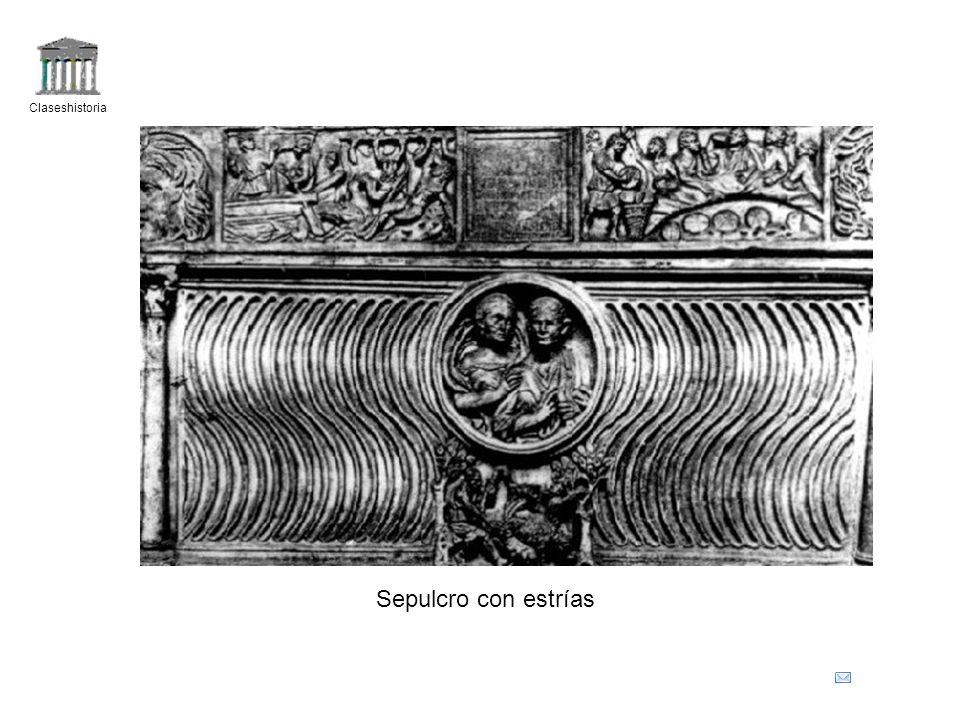Claseshistoria Sepulcro con estrías