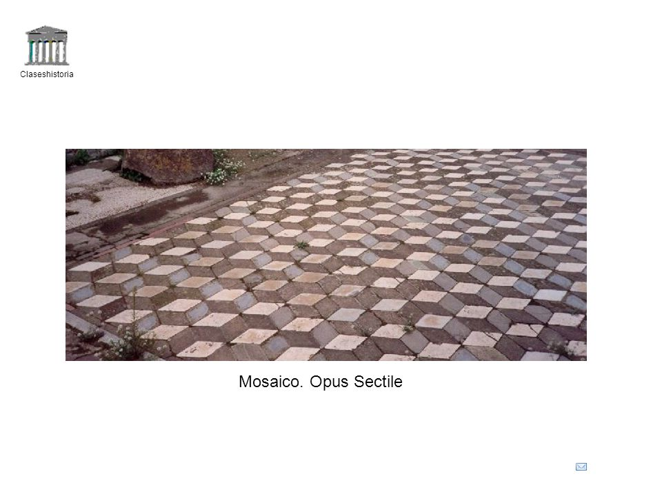 Claseshistoria Mosaico. Opus Sectile