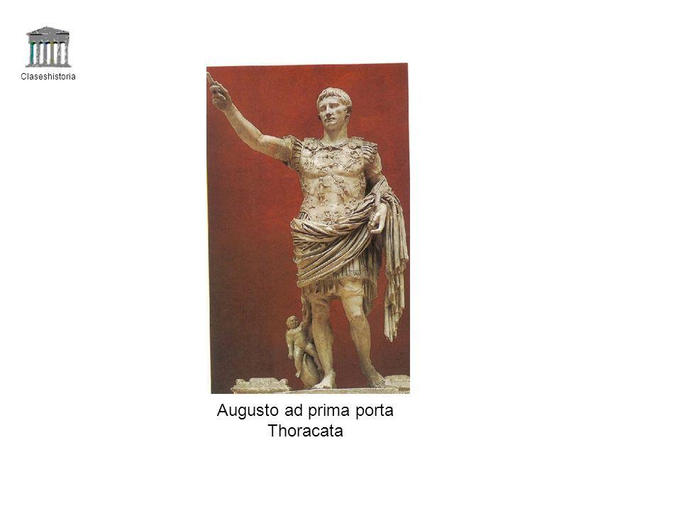 Claseshistoria Augusto ad prima porta Thoracata