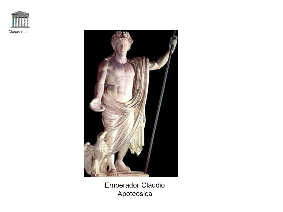 Claseshistoria Emperador Claudio Apoteósica