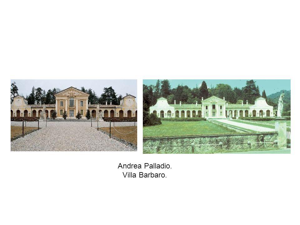 Andrea Palladio. Villa Barbaro.