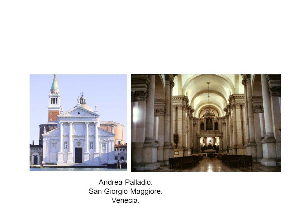 Andrea Palladio. San Giorgio Maggiore. Venecia.