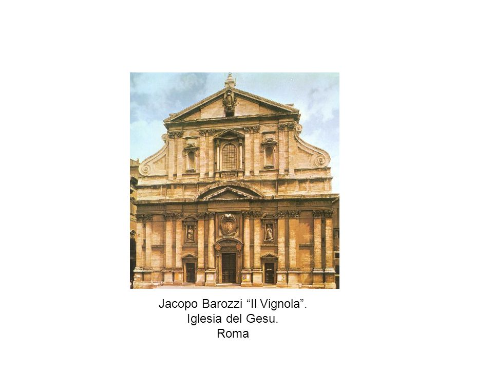 Jacopo Barozzi Il Vignola .