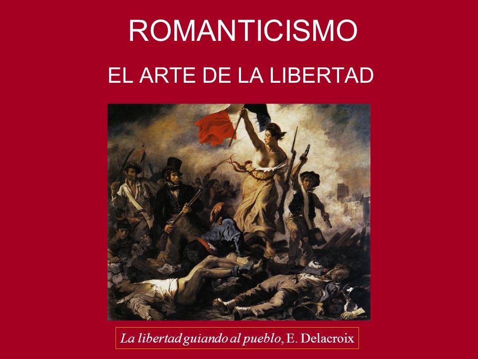 La libertad guiando al pueblo, E. Delacroix