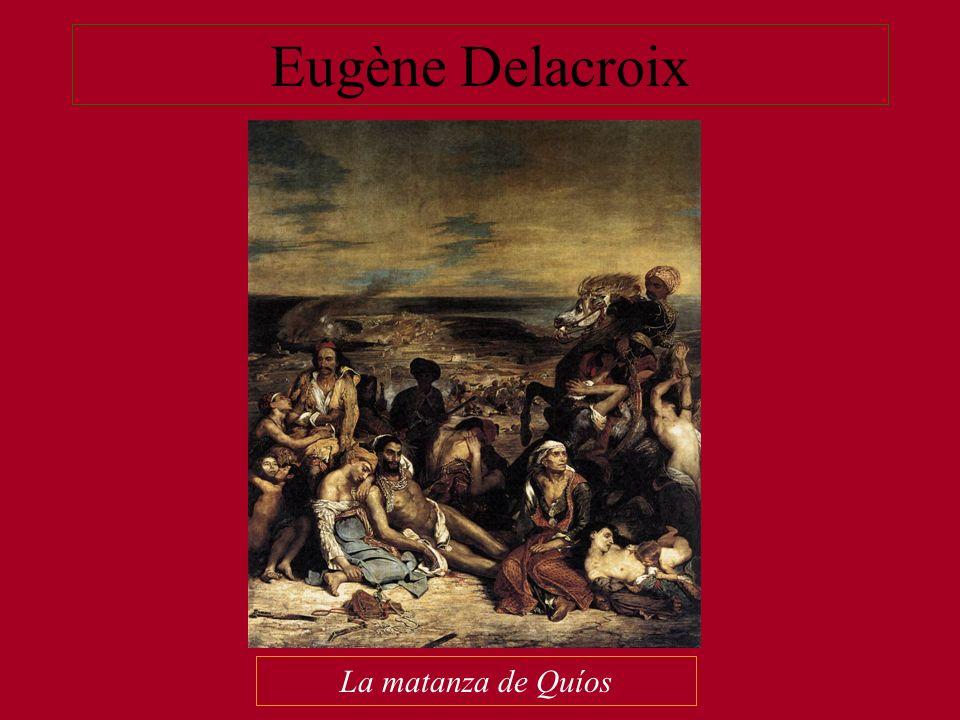 Eugène Delacroix La matanza de Quíos