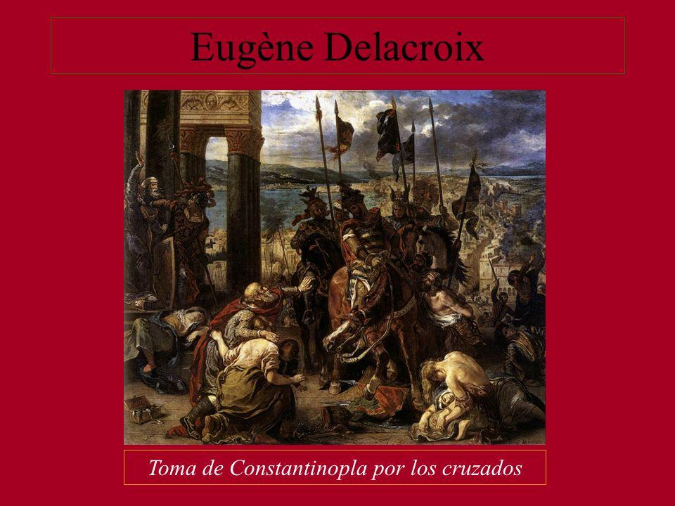Toma de Constantinopla por los cruzados