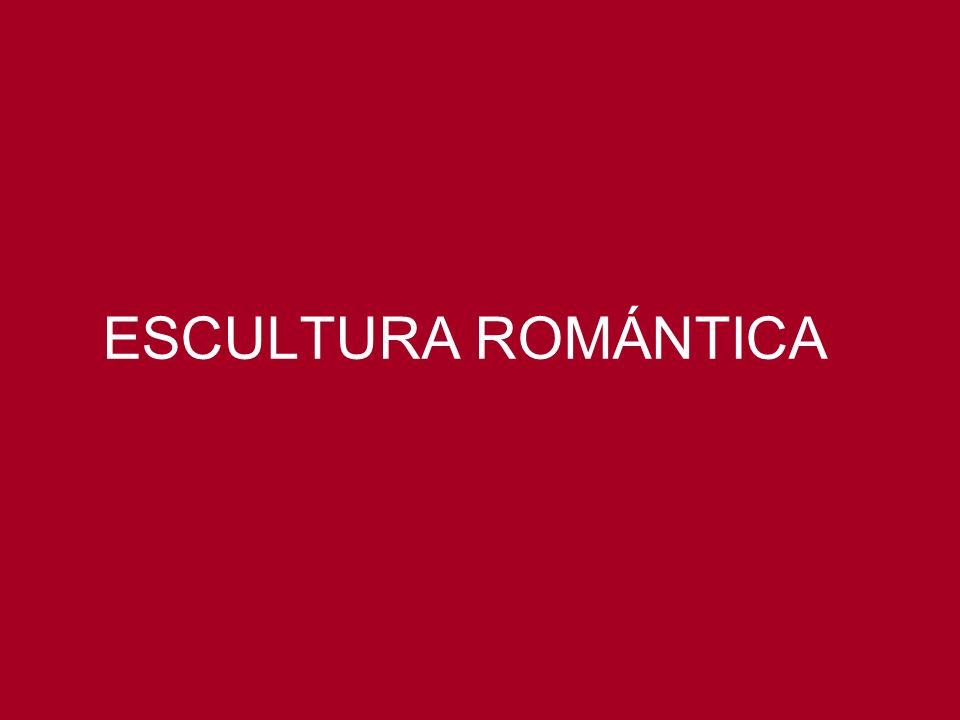 ESCULTURA ROMÁNTICA