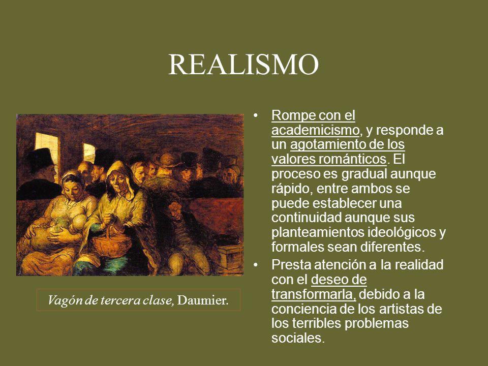 Vagón de tercera clase, Daumier.