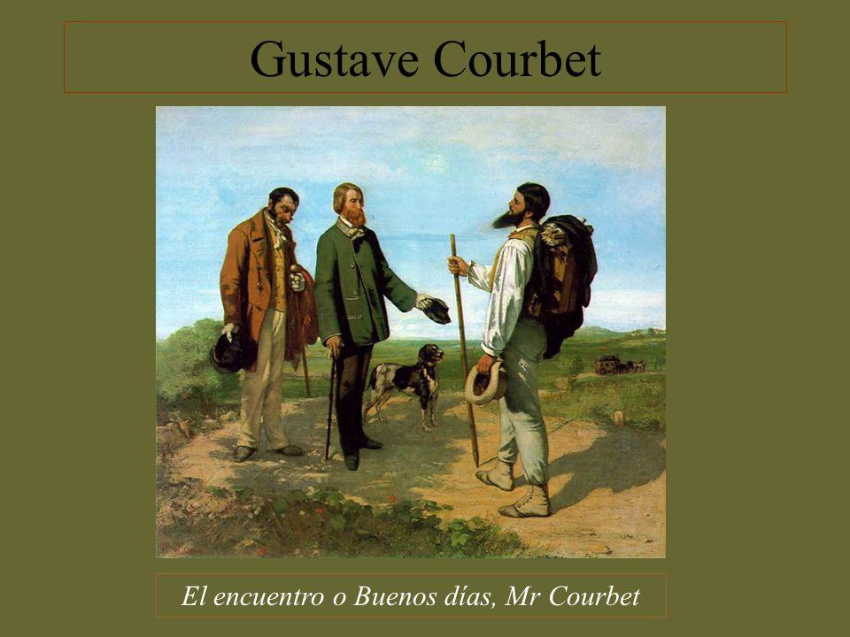 El encuentro o Buenos días, Mr Courbet