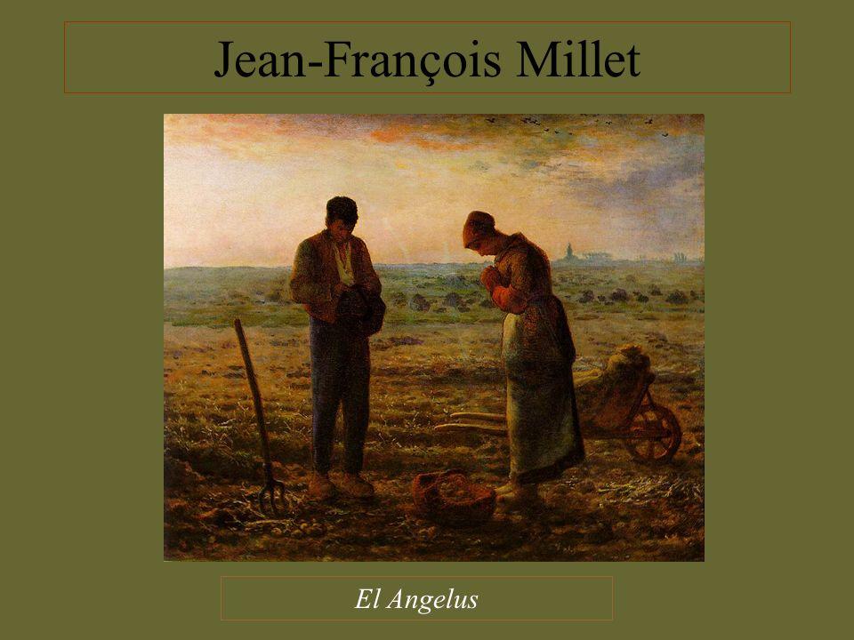 Jean-François Millet El Angelus