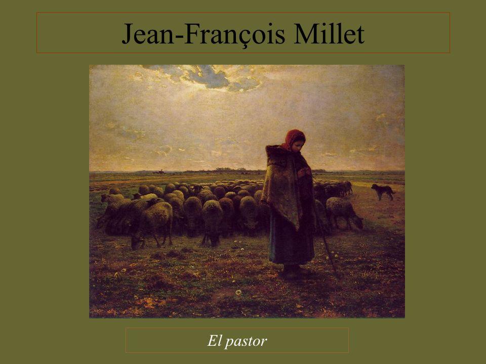 Jean-François Millet El pastor