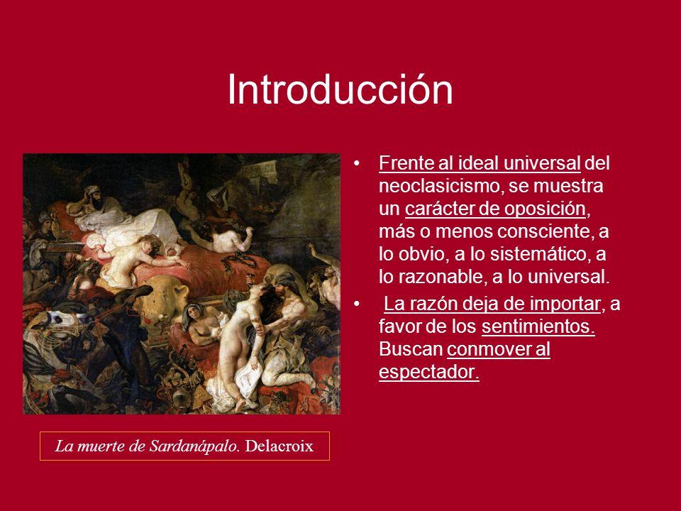 La muerte de Sardanápalo. Delacroix