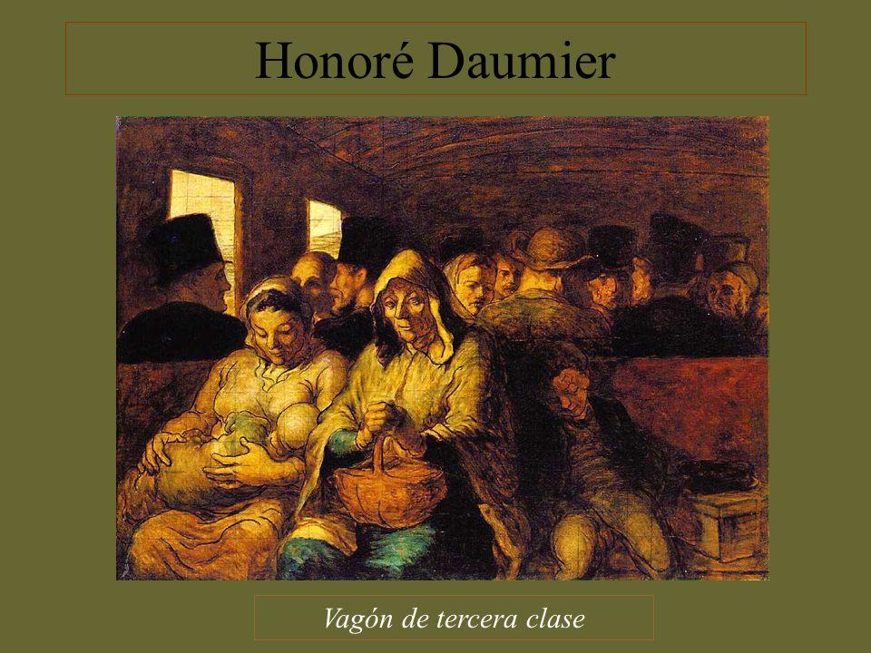 Honoré Daumier Vagón de tercera clase