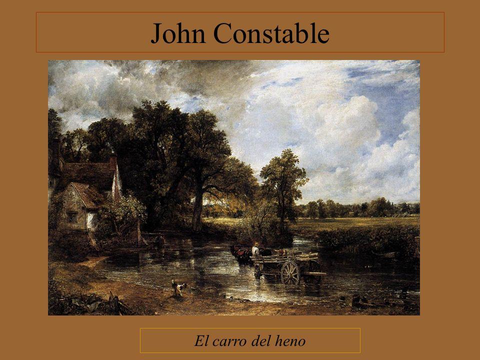 John Constable El carro del heno