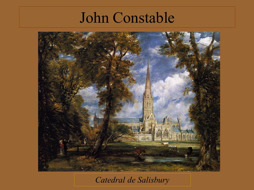 John Constable Catedral de Salisbury