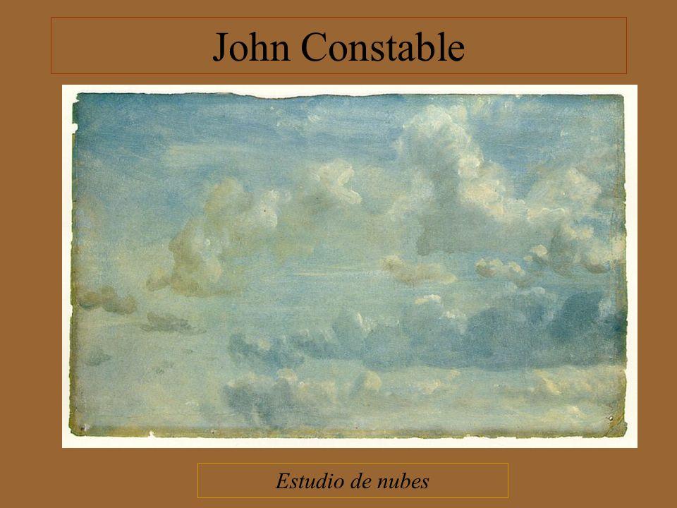 John Constable Estudio de nubes